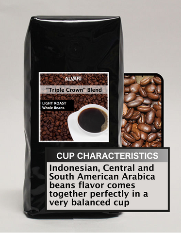 "ALVARI ""Triple Crown"" Blend Coffee"