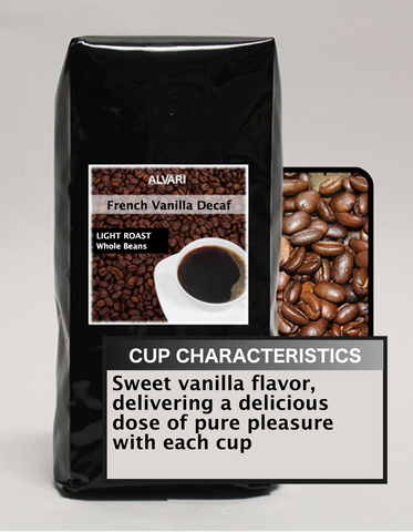 ALVARI French Vanilla Decaf Coffee