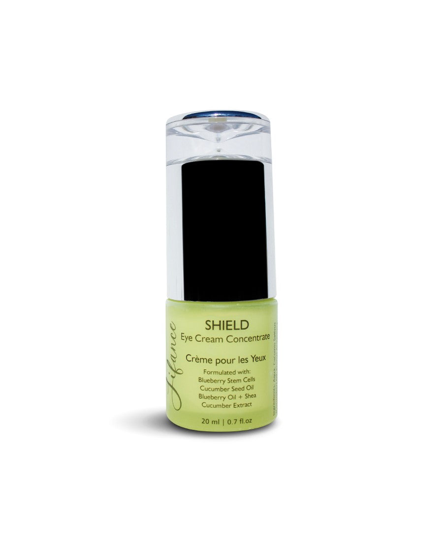 SHIELD Blueberry Stem Cell & Cucumber Eye Cream 20 ml - LIFANCE Super Natural Skin Care   Clean Chemistry | Complex Formulas