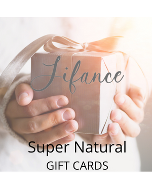 Super Natural GIFT CARD - LIFANCE Super Natural Skin Care   Clean Chemistry | Complex Formulas