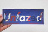 Unfazed - Trump 2020 Decal
