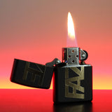 Unfazed - FAZE Zippo Lighter - Matte Black/Gold, Aluminium, or Red