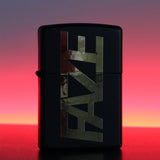 Unfazed - FAZE Zippo Lighter - Matte Black/Gold, Aluminum, or Red