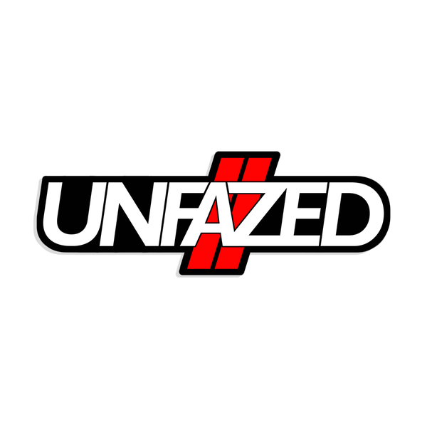 Unfazed - Hash Decal Sticker