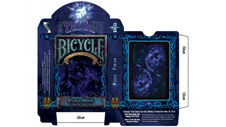 Cthulhu R'LYEH RISING Playing Cards