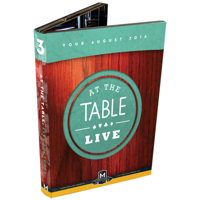 At the Table Live Lecture August 2014 (4 DVD Set)