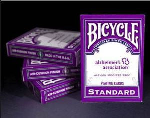 Alzheimer's Association Playing Cards
