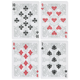 Arcanum Grey Playing Cards