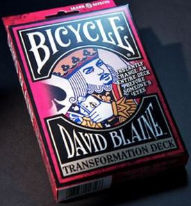 David Blaine's Transformation Deck