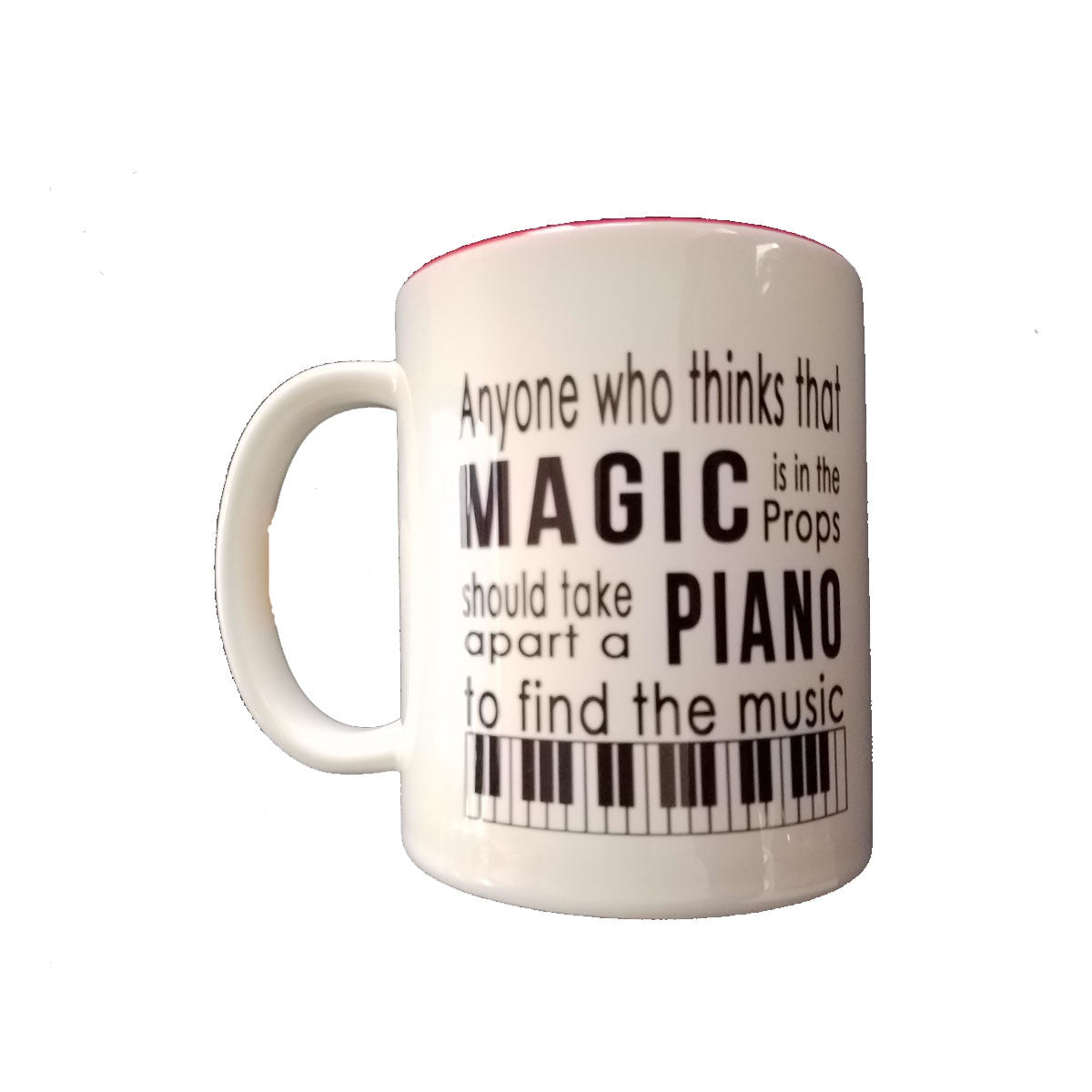 Coffee Mug - Magic and Music Quote