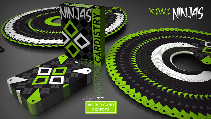 Cardistry Ninjas Kiwi Playing Cards