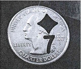 Cut Out Coin ($.25)