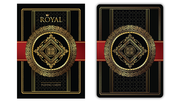 """ROYAL"" Playing Cards"