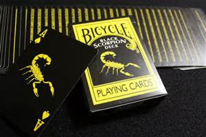Black Scorpion Deck Playing Cards