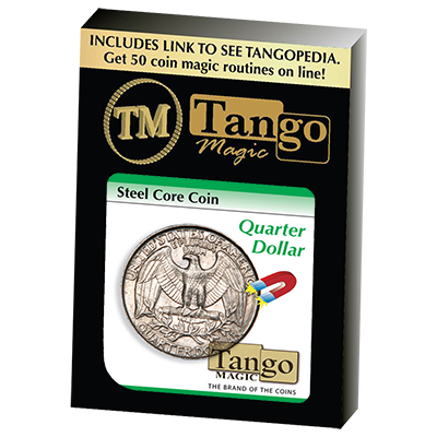 Steel Core Coin US Quarter Dollar by Tango
