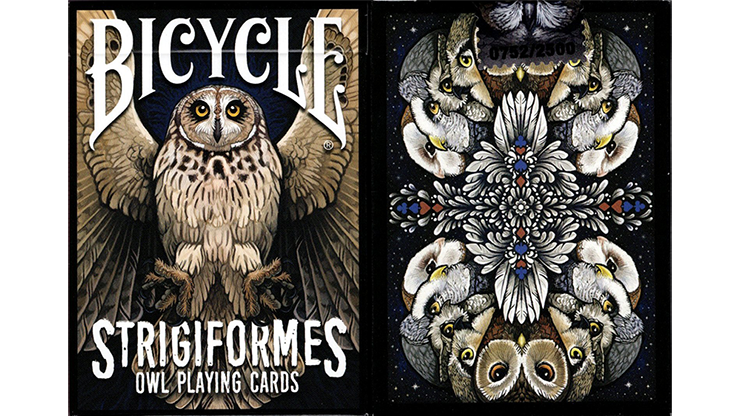 Strigiformes Owl Playing Cards