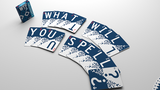 WTF Cardistry 2 Spelling Playing Cards