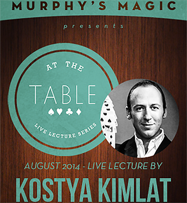 At The Table Live Lecture - Kostya Kimlat