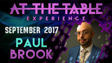 At The Table Live Lecture - Paul Brook