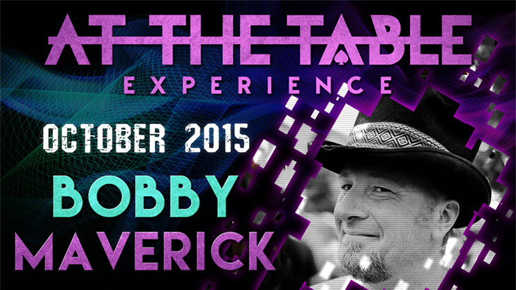 At The Table Live Lecture - Bobby Maverick
