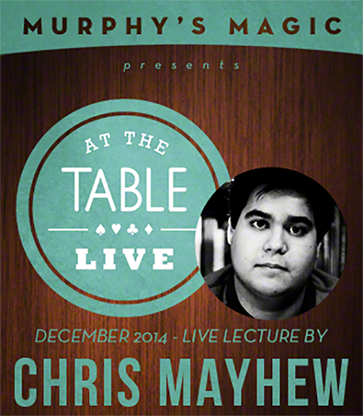 At The Table Live Lecture - Chris Mayhew