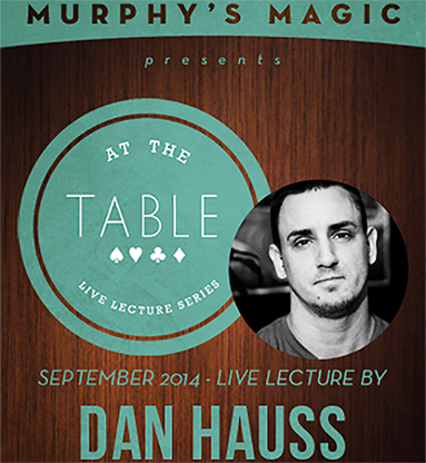 At The Table Live Lecture - Dan Hauss