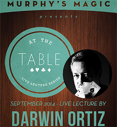At The Table Live Lecture - Darwin Ortiz