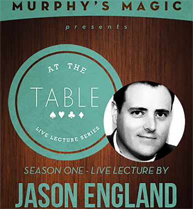 At The Table Live Lecture - Jason England