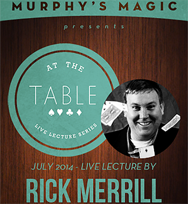At The Table Live Lecture - Rick Merrill