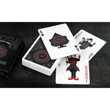 Black Rose Playing Cards