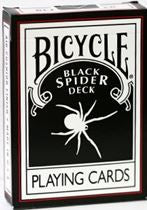Black Spider Playing Cards
