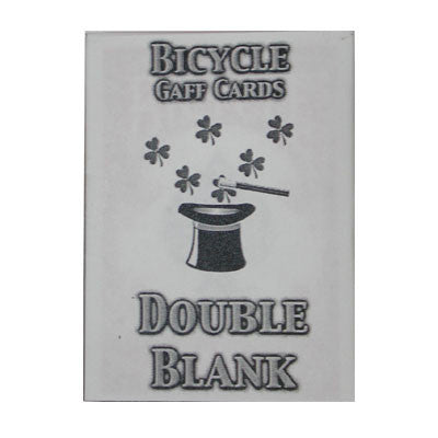Double Blank Playing Cards
