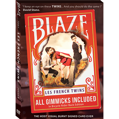 BLAZE by Tony & Jordan (Les French TWINS)