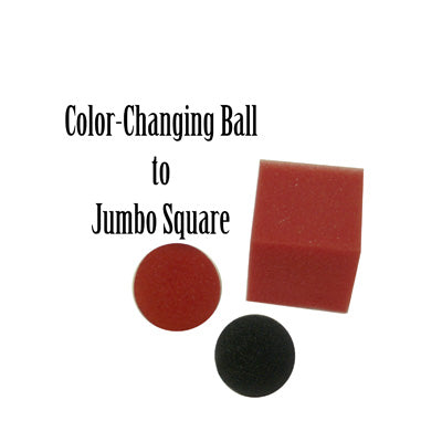 Color Changing Ball to Jumbo Square