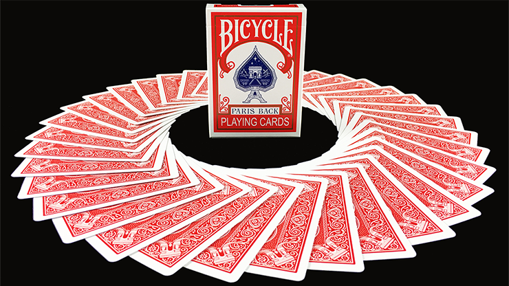 Bicycle Paris Back Playing Cards