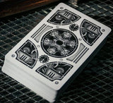 Silver Steam Punk Playing Cards