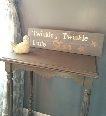"""Twinkle, twinkle little star"""
