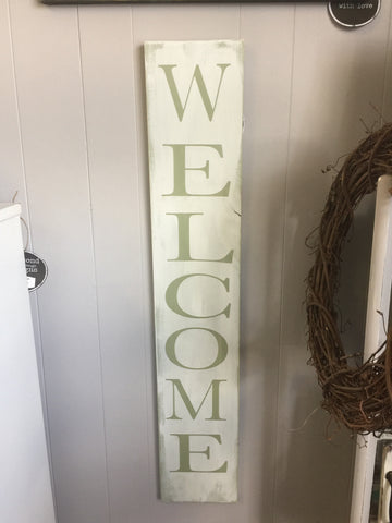 Welcome sign 40x7