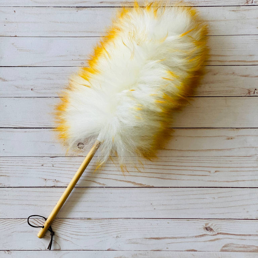 Eco Friendly & Cruelty Free Wool Duster