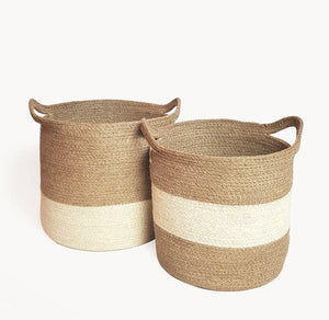 Agora Color Block Basket (Set of 2)
