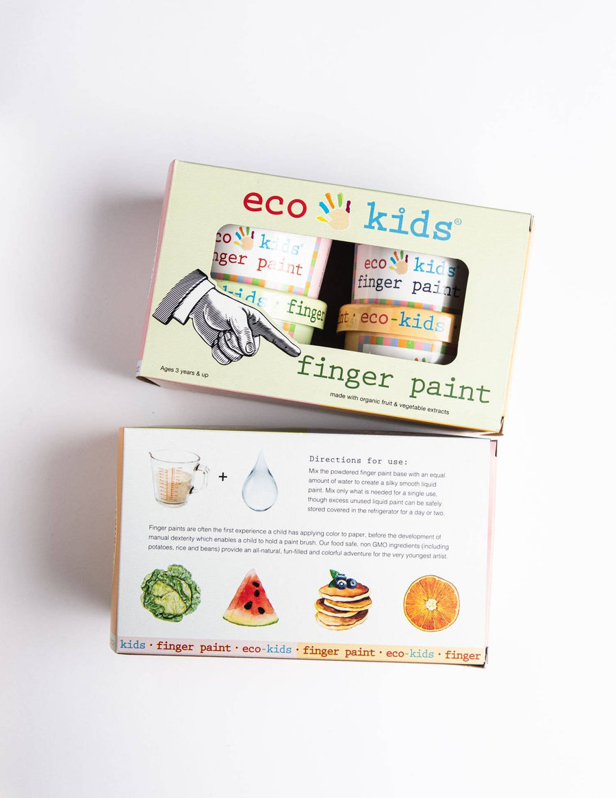 finger paint, case of 6 colors