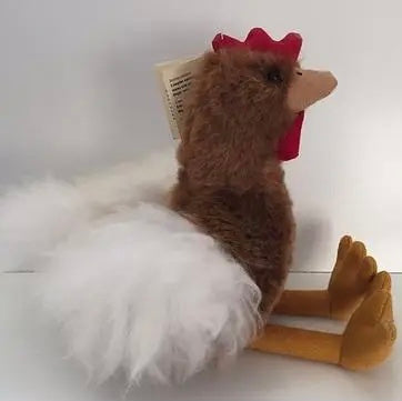 Hen Alpaca Fur Toy