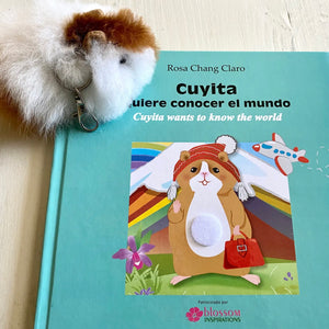 Blilingual Fair Trade book: Cuyita wants to know the world