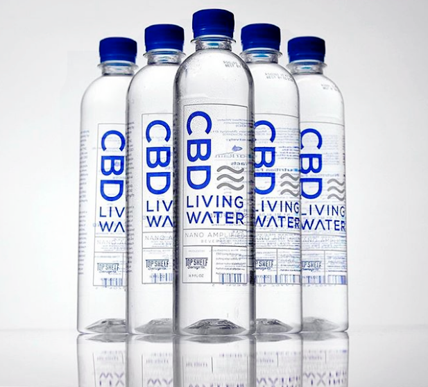 CBD Living Water: CBD Infused H20 | Case - cbdcentro - 1