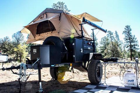 Smittybilt Scout Overland Trailer w/ Tires