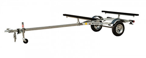 Magic Tilt Galvanized Kayak Paddleboard Trailer 2-4 Place