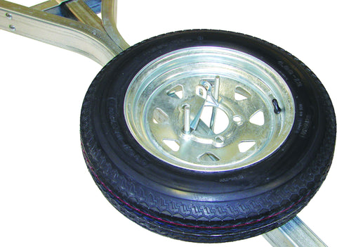 "Malone 12"" Galvanized Spare Tire w/ Locking Attachment"