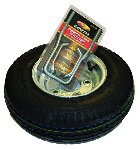 "Malone 8"" Galvanized Spare Tire w/ Locking Attachment"