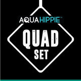 Aqua Hippie Quad Lobster Gear Set
