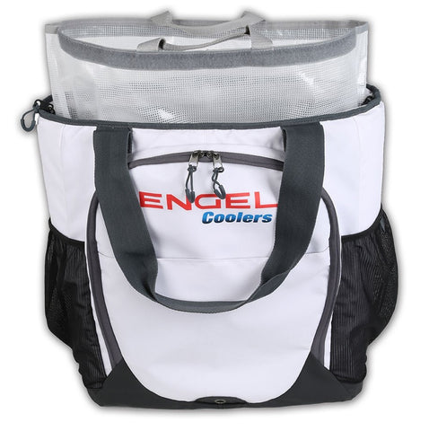 Engel Soft Sided Backpack Cooler White – SUP & Skiff Outfitters